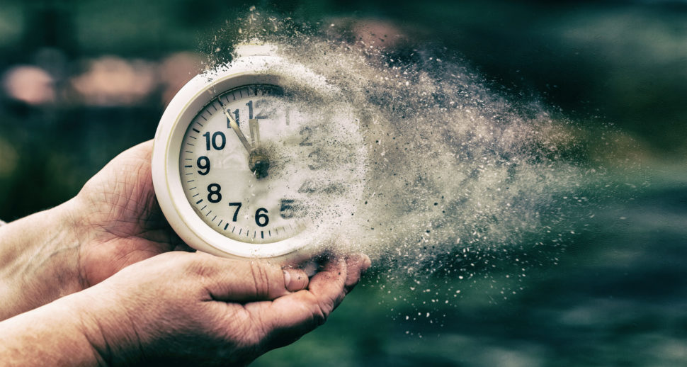Clock Fading to Dust